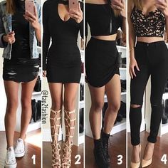 Love all these outfits