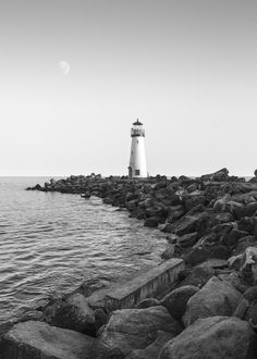 Twin Lakes Lighthouse - BW by Nando Albuquerque on 500px