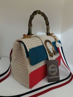 Discover thousands of images about M Missoni Crochet Knit Bag in Multicolor (multi) Crochet Wallet, Crochet Clutch, Crochet Shoes, Crochet Handbags, Crochet Purses, Yarn Bag, Red Handbag, Cotton Bag, Knitted Bags