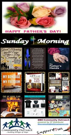 ✞ Sunday Morning ❤ Power Pack for People on the Go! ✍ Open 24/7 Bridges Of Hope, Praise And Worship, Sunday Morning, Happy Fathers Day, Blessing, Community, Make It Yourself, Facebook, Group