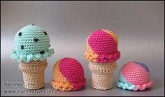 Multi-farvet Is - Norma Lynn Cake Sachets