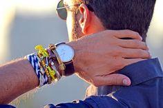 Como usar pulseira masculina