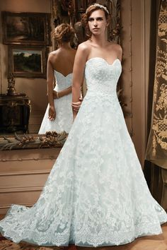 Casablanca Bridal Wedding Dresses - Search our photo gallery for pictures of wedding dresses by Casablanca Bridal. Find the perfect dress with recent Casablanca Bridal photos. Sweetheart Wedding Dress, Blue Wedding Dresses, Elegant Wedding Dress, Wedding Gowns, Lace Wedding, Bridesmaid Dresses, Prom Dresses, Dresses 2014, Dressy Dresses