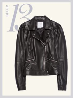 Lightweight Spring Jackets - Zara biker jacket | allure.com