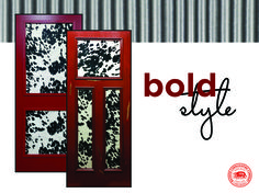Dare to be bold - add a pop of red and unique character with a cowhide. Be BoldInterior DoorBadger & Pin by Badger Corrugating on Badger Interior Doors \u0026 Millwork ... Pezcame.Com