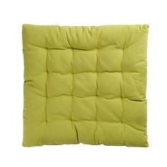 Sitzkissen Baumwolle grün ca B:40 x L:40 cm