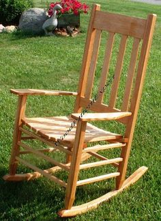 build your own rocking chair