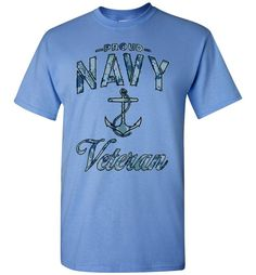 Proud Navy Veteran T-Shirt (Camo)