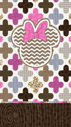 Pretty Walls: Minnie mouse Friday freebie
