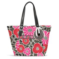 Be Colorful Tote in Cheery Blossoms, $98 | Vera Bradley