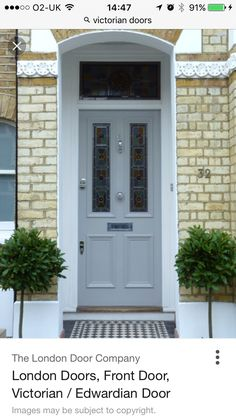 The London Door Company \'Powder Grey\' paint colour - Satin | The ...