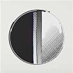 """""""Mirror #1"""", Lichtenstein.  This piece changed my own artwork forever."""
