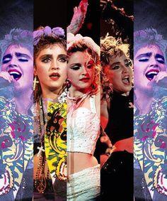 Madonna - Like A Virgin Tour ♥︎