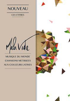 Plaquette Mala Vida Conception graphique Client : Mala Vida © Nathalie Papeil