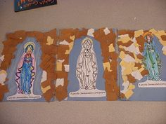 Simple grotto craft for Our Lady of Lourdes (Feb. 11)