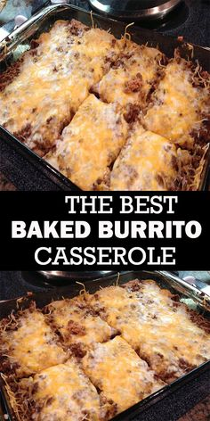 BAKED BURRITO CASSEROLE # You are in the right place about burritos videos Here we offer you the most beautiful pictures about the burritos beef you are looking for. When you examine the BAKED BURRITO CASSEROLE # part of the picture you can get[. Beef Casserole Recipes, Casserole Dishes, Hamburger Casserole, Mexican Casserole, Taco Bake Casserole, Hamburger Meat Recipes Ground, Ground Beef Casserole, Baked Burrito Recipe Beef, Ground Beef Tortilla Recipe