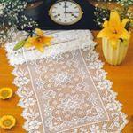 Home Decor Crochet Patterns Part 110 - Beautiful Crochet Patterns and Knitting Patterns Filet Crochet, Knit Crochet, Knitting Patterns, Crochet Patterns, Crochet Home Decor, Crochet Tablecloth, Beautiful Crochet, Doilies, Sehun