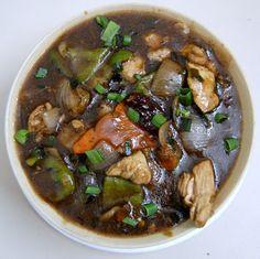 Roast Chicken Onion Garlic Sichuan Sauce | Suryama - Hotel Raviraj | Pune
