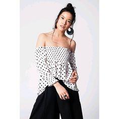 Reposting @my_mall_metro: My Mall Metro White blouse with polka dot print and cold shoulders  #Mymallmetro #designer #desingerfashion #streetwear #apparel #clothes #fashion #fashionblog #life #shopaholic #dress #webstagram  #clothing #dresses #ootd #followforfollow #instafashion
