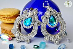 Check out this item in my Etsy shop https://www.etsy.com/uk/listing/471652557/handmade-soutache-earrings-starlight