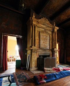Abandoned Howey mansion,Howey-In-The-Hills, Florida