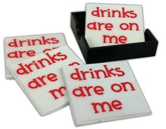 Crafts Direct Project Idea: Drinks Are On Me Coasters