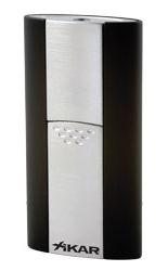 XIKAR Flash Single Jet Flame Cigar Lighter in Black Finish
