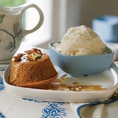 Delicious Sweet Potato (or Pumpkin) Muffins (optional- dessert, add Sticky Caramel-Pecan Sauce) eight servings, reduce sugar in half one serving: 1/4 cup pumpkin, 2 tsp applesauce and Greek yogurt, 1 tsp. butter, 1 Tbsp sugar, 2 1/2 Tbsp flour, 1/8 tsp baking soda and vanilla, 1/16 tsp salt, ginger and cinnamon