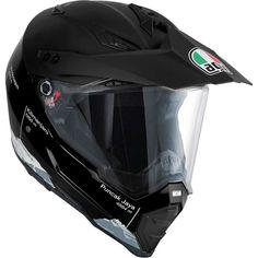 Agv Dual Evo Multi Casco Integrale Taglia L Mens Motorcycle Helmets, Agv Helmets, Off Road Helmets, Full Face Helmets, Dual Sport, Ventilation System, Riding Gear, Valentino Rossi, Evo