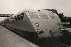 Bugatti Autorails - First 38-passenger Bugatti Autorail (officially called Wagon Rapide, WR) was tested in Alsace in 1933, and very soon it began to carry passengers between Paris and Deauville.