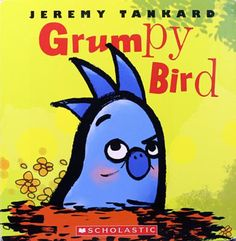 """Grumpy Bird! Bird wakes up grumpy. Too grumpy to eat, play—or even fly. """"Looks like I'm walking today,"""" says Bird grumpily. All of this grumpy walking piques the interest of his friends and soon Sheep, Rabbit, Raccoon, Beaver, and Fox are walking alongside him. Somewhere along the way Bird realizes that his friends are still there, but his mood is gone, proving that sometimes grumpy needs company!"""