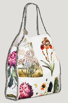 ae364834c7 Wear It Now  Stella McCartney s Botanical-Print Falabella Bag - Vogue Daily  - Vogue