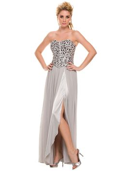 Prom Dress NX2593 Sequined Bodice