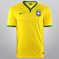 Camisa Nike Seleção Brasil I 14 15 s nº - Torcedor - Compre Agora 0a750c86f447a