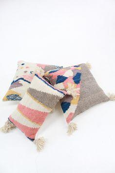 Beklina Woven Pillow Cartographer / Minna