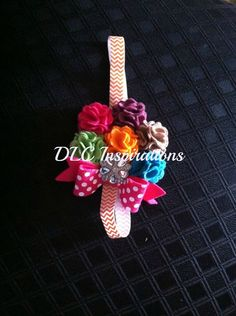 Felt flower headband by DLCInspirations on Etsy, $16.00