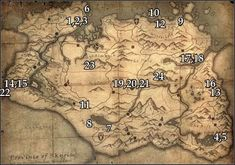 skyrim locations of stones of barenziah map - Google Search   For me awesome content:  Follow me at Twitch.tv/CraigQuest Follow me at Twitter.com/CraigQuestGames