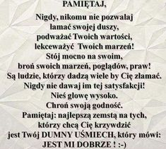 Pamietaj Motto, Texts, Haha, Funny Pictures, Self, Mindfulness, Good Things, Humor, Motivation