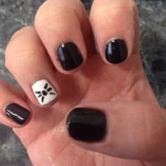 My Dan and Phil nails from when I went to TATINOF!