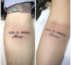 Couple Wrist Tattoos, Cute Couple Tattoos, Bff Tattoos, Mini Tattoos, Cute Tattoos, Small Tattoos, Boyfriend Tattoos, Side Wrist Tattoos, Flower Tattoos