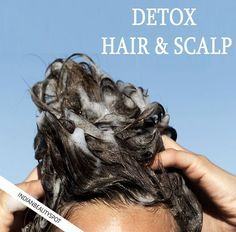 Detox hair and scalp. Clean hair follicles are important to maintain healthy hair and promote hair growth. Hair products that you use on a daily basis can cause clogged pores, product build. Natural Hair Care, Natural Hair Styles, Natural Beauty, Hair Scalp, Tips Belleza, Hair Remedies, Facial Care, Belleza Natural, Hair Health