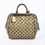 Cheap Fashion Louis Vuitton Monogram Leather Sequin Sunshine Express North South Handbag - Khaki M40795 Replica