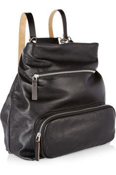 Marni Convertible Leather Shoulder Bag