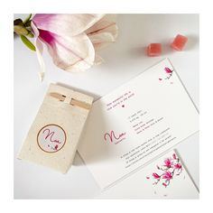 Hellooo Noa ♡ Het is lente en dit kaartje straalt het helemaal uit met prachtige Magnolia bloemen😍 Heb jij ze onderweg ook al gespot? Ze vallen deze dagen echt op. Zalig toch?! Noa heeft ze vereeuwigd op haar geboortekaartje. Dik kaartje met roze insert en afgewerkt met rosé folie. 💖 #watercolor #geboortekaartje Home Studio, Its A Wonderful Life, Gift Wrapping, Rose, Gifts, Seeds, House Studio, Gift Wrapping Paper, Pink