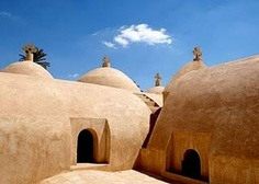 Baramus monastery (also called the Monastery of the Romans) is situated in the valley of Natrun, on the road of Cairo / Alexandria, this monastery is dedicated to the Virgin of Baramus. Baramus monastery is the first monastery founded in Wadi El Natrun where Saint Macarius lived.