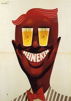 …..Frans Mettes 'Heineken', 1953…….