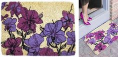 Win Your Choice of Spring or Summer Doormat from Entryways on TwoClassyChics blog. #sponsored #giveaway
