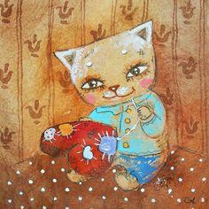 Сообщество иллюстраторов / Иллюстрации / Столбова Анастасия/Stolbova Anastasia / Вышивалка