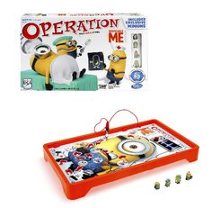 Operation Minion - (Ages 6+, 1+ players)Helpful reviews for the best family games and toys for kids, teens and adults. Gifts for Christmas, birthday, any occasion.