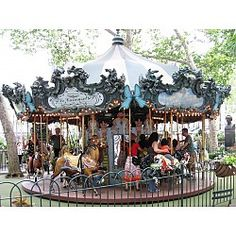 Le Carrousel in Bryant Park New York, NY #Kids #Events
